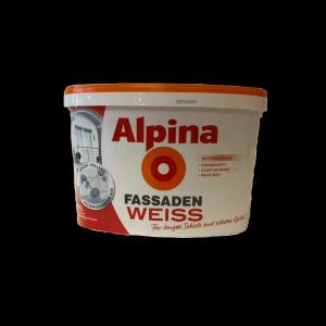 Alpina Fassadenweiss 10l