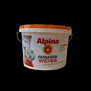 Alpina Fassadenweiss 2,5l