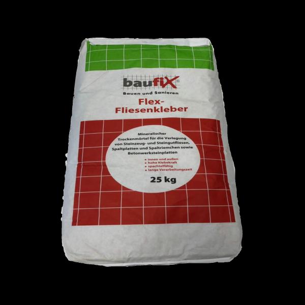 Baufix Flex- Fliesenkleber 25kg