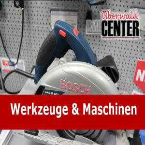 Werkzeuge- und Maschinen