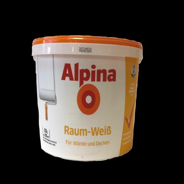 alpina raumweiss 10l. Black Bedroom Furniture Sets. Home Design Ideas