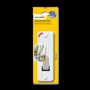 Schellenberg Abdeckplatte DUO 16,0 weiß