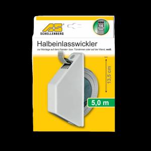Schellenberg Halbeinlaßwickler weiß mini