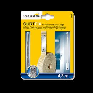 Schnellreparaturset Gurtfix Maxi 23mm 4,3m beige