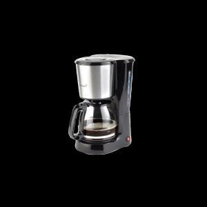 Korona Kaffeeautomat schwarz inox