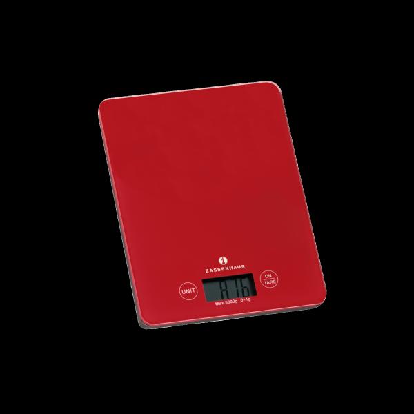 Kuchenwaage Zassenhaus Balance Rot 5kg Baucenter Uberwald