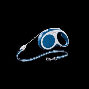Flexi Hundeleine Seil 5m blau