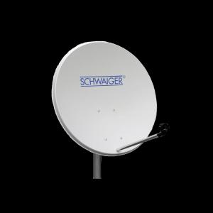 Schwaiger Sat Antenne Stahl hellgrau 80cm SPI992011
