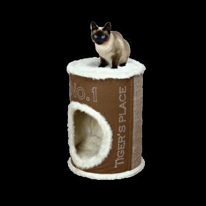 Katzenturm Cat Tower Adamo 54cm braun beige
