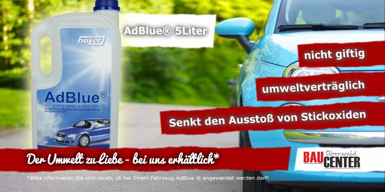 Ad Blue für das Auto