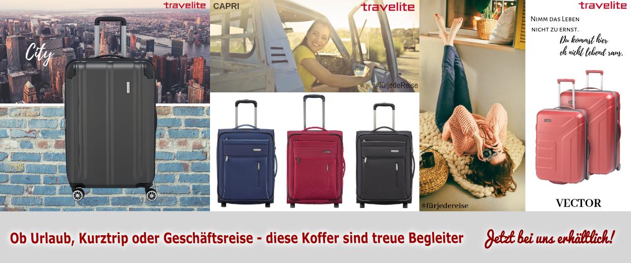 Travelite Koffer im Baucenter Wald-Michelbach